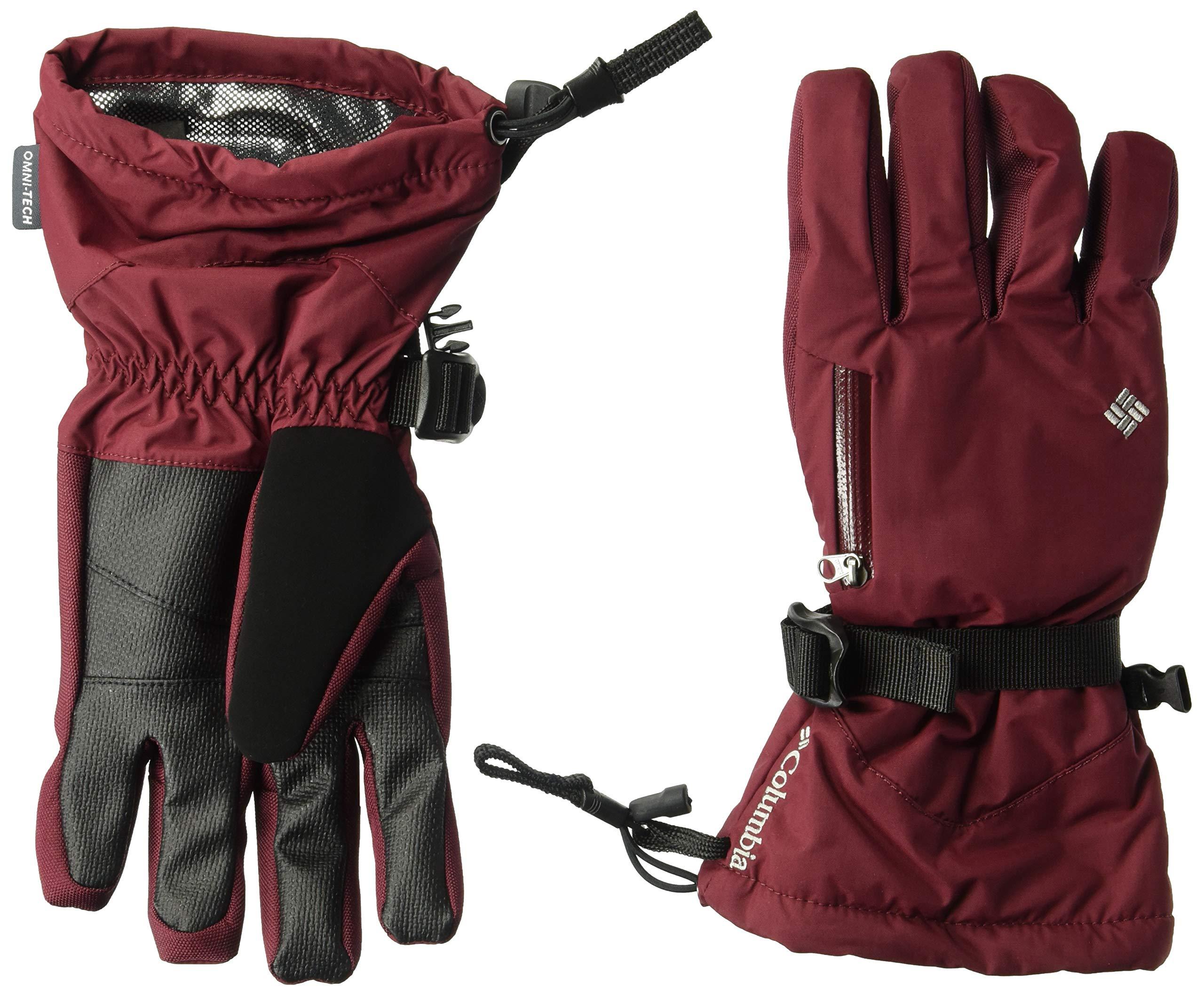 Columbia Standard Bugaboo Women's Interchange Glove, Rich Wine/Red Mercury, Medium
