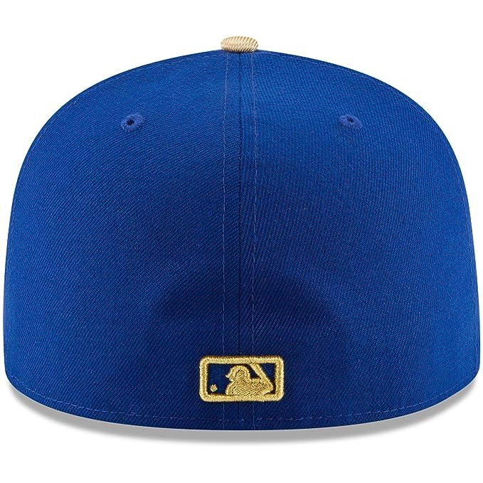 the best attitude 0d140 7932c Amazon.com   New Era 59Fifty Hat Kansas City Royals Authentic Alternate  Blue Cap 70346370   Clothing
