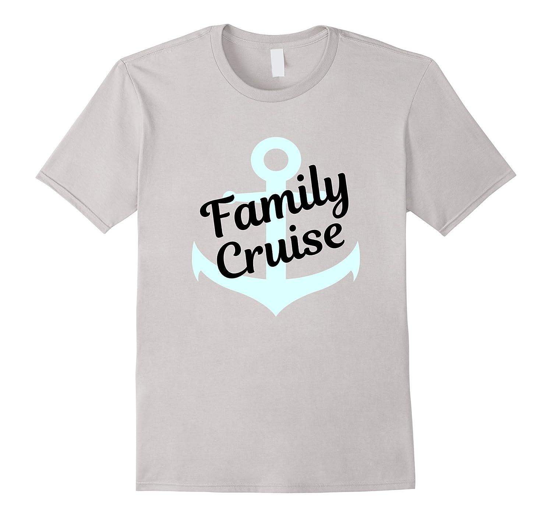 6ea0babadae16f Matching Family Cruise Shirts Aqua Anchor Ships Ahoy-TH - TEEHELEN