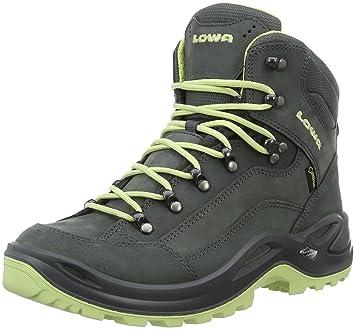 Lowa Damen Renegate GTX Mi Trekking-& Wanderstiefel, Braun (Taupe/Sepia 4655), 41 EU