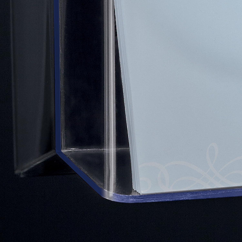 SIGEL LH118 Wand-Prospekthalter f/ür DIN A4 quer transparent aus Acryl weitere Gr/ö/ßen