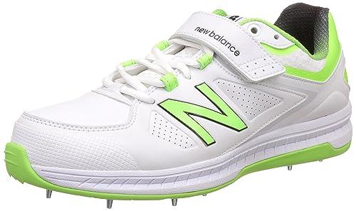 4040 V3 White Cricket Shoes