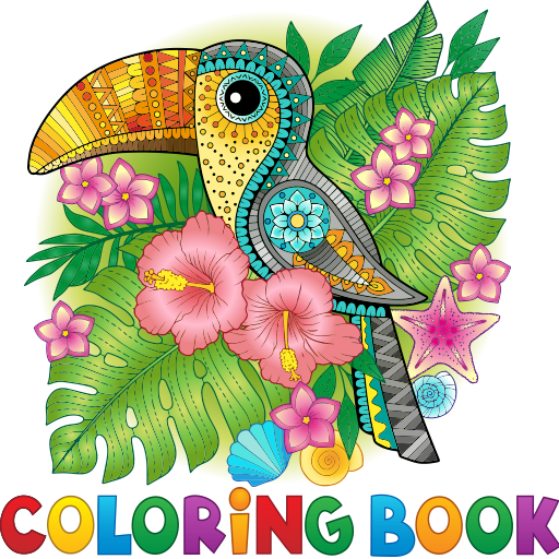 Coloring Book for Adults & Kids Free - Best Coloring Pages for Free]()