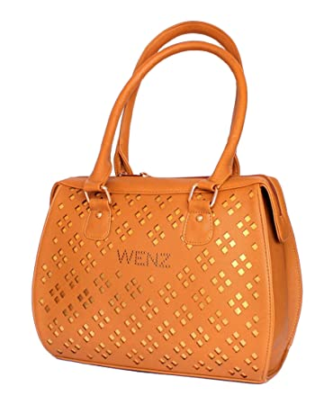 Buy STOCK CLEARANCE SALE- Designer Branded Faux Leather Ladies Handbag  Shoulder Bag Satchel Online at Low Prices in India - Amazon.in 061838641d5d0