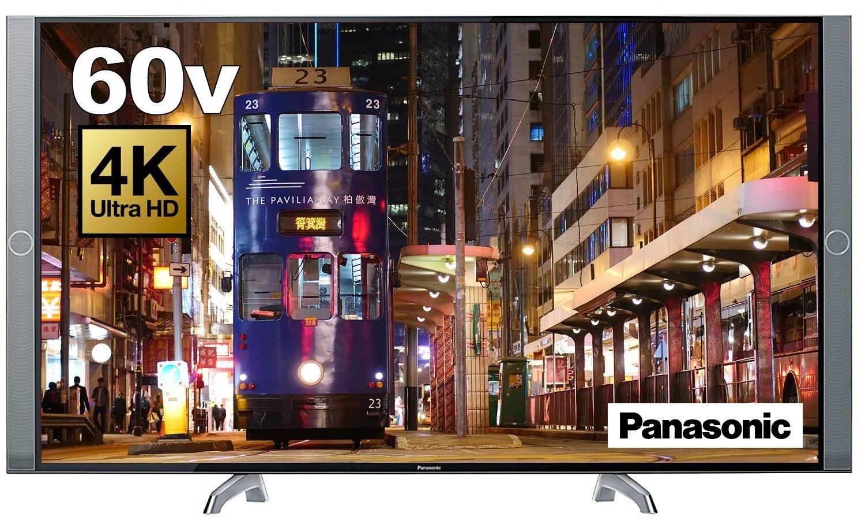 2位.Panasonic 60V型4K対応液晶テレビ VIERA TH-60DX850