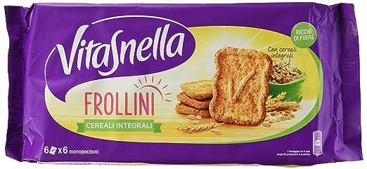 4 opinioni per Vitasnella- Cereali Integrali, Frollini Ricchi Di Fibre- 250 G