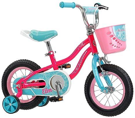 2f0c7220e2c Amazon.com : Schwinn Elm Girl's Bike with SmartStart, 12