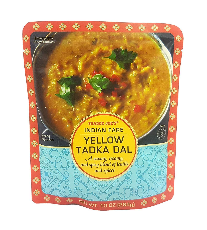 Trader Joe's - Indian Fare Yellow Tadka Dal NET WT.10 OZ (284g) - 2-Pack