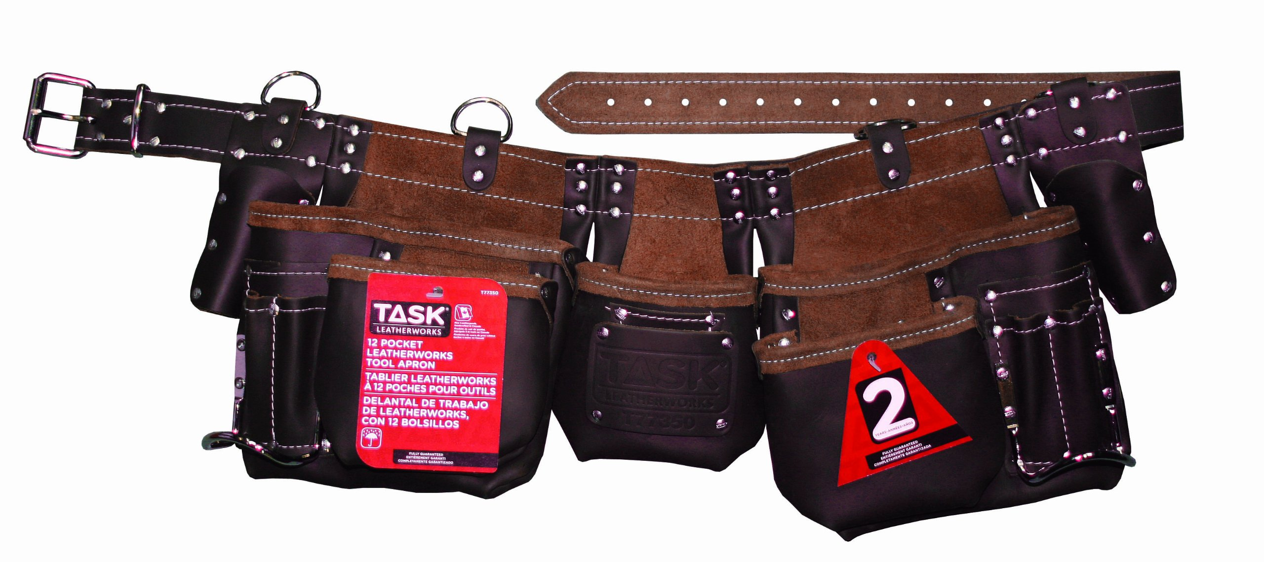 Task Tools T77350 Master Carpenter's Apron, 12-Pocket
