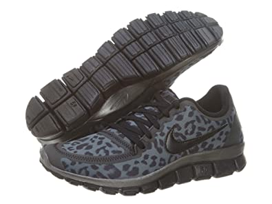 Nike Wmns Free 5.0 V4 Leopard - Dark Grey (511281-013) (5