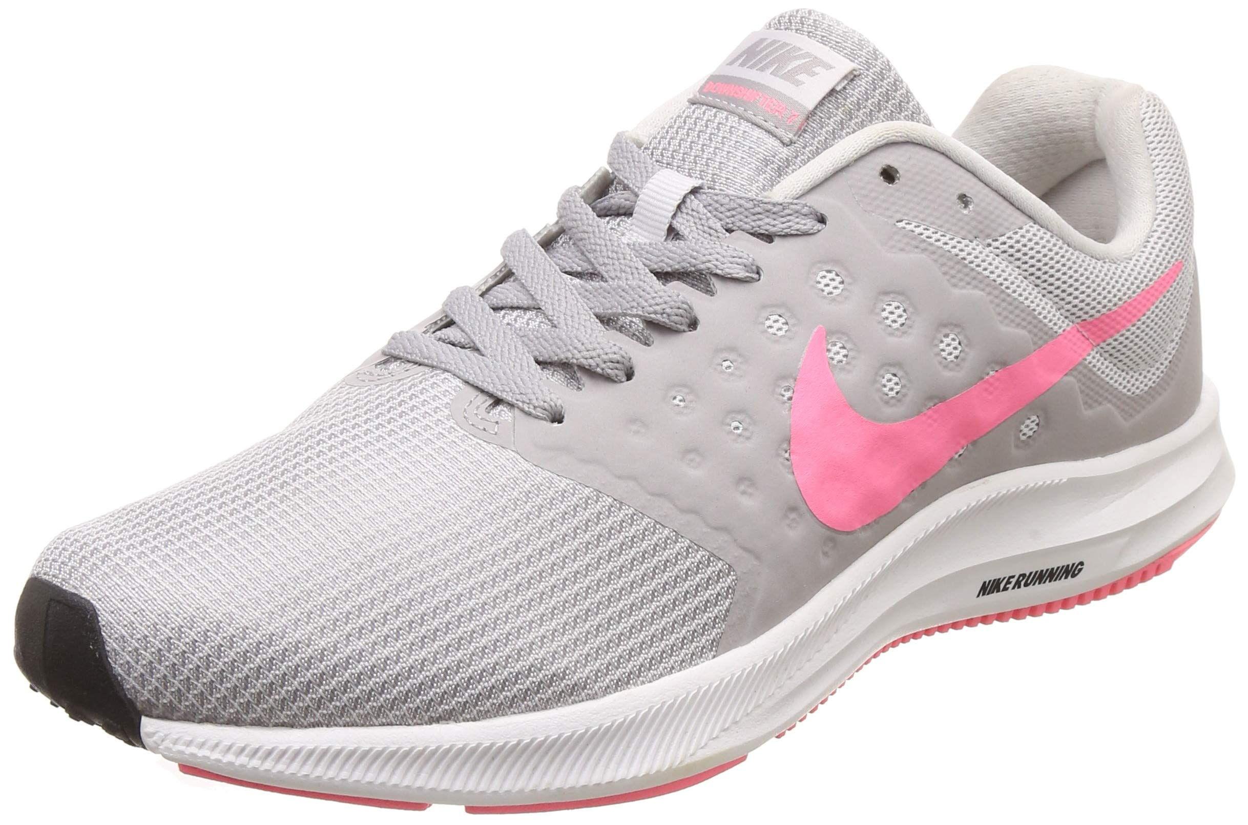 b61c096a3280e Galleon - Nike Women s Downshifter 7 Running Shoe Vast Grey Sunset Pulse Atmosphere  Grey Size 6.5 M US