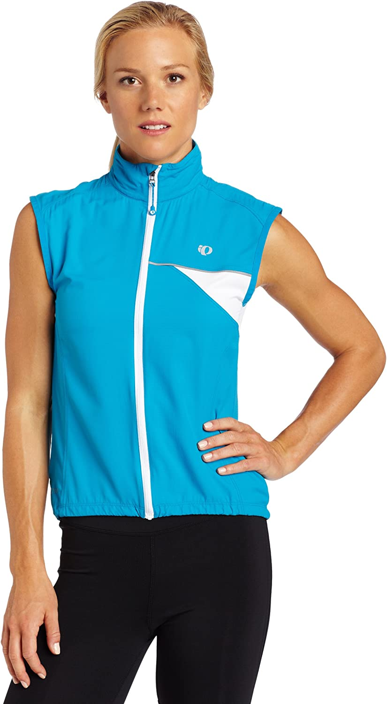 Pearl Izumi Womens Elite Barrier Vest,Blue Jewel,Small