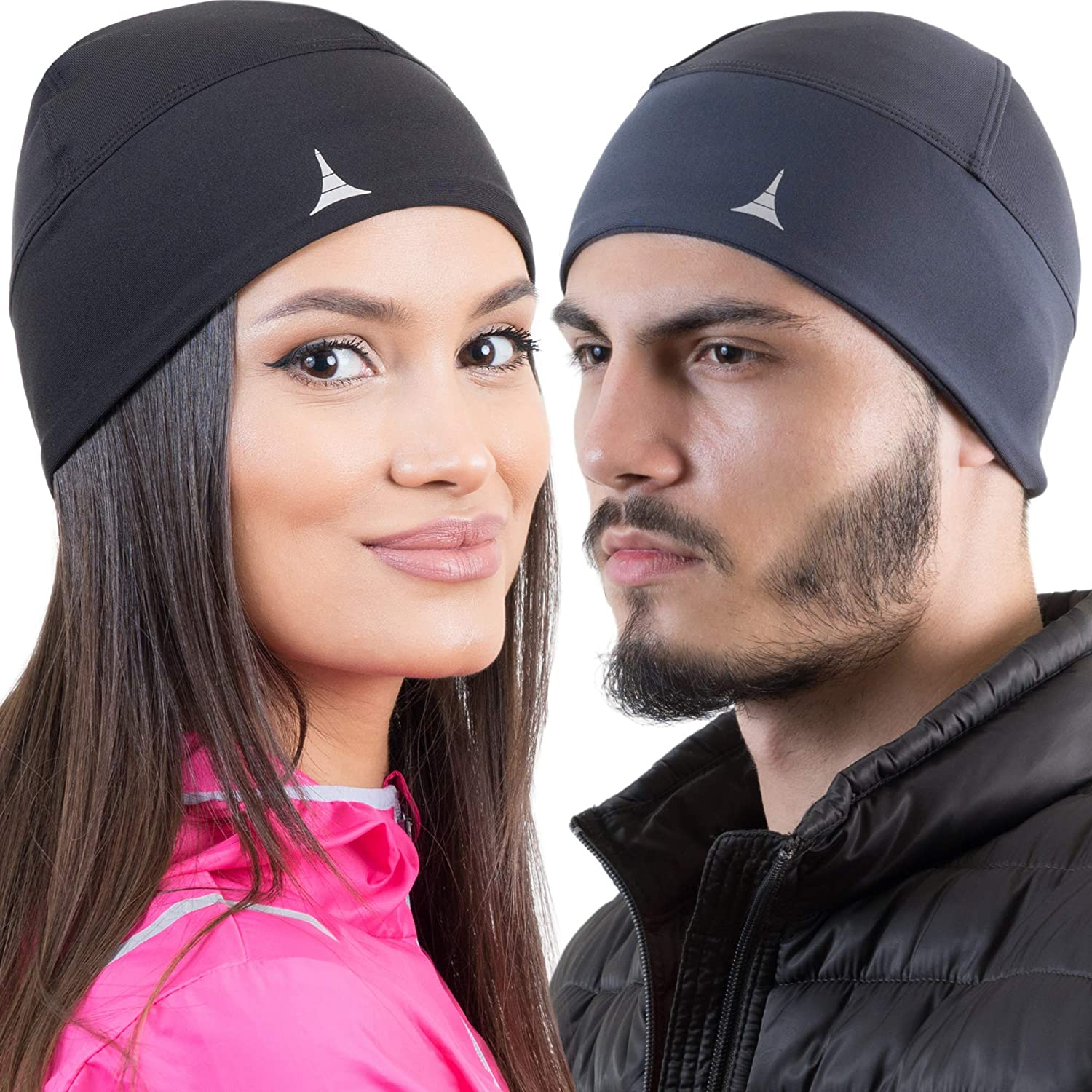 Helmet Liner Sweat Wicking Cooling Skull Cap Beanie. Ultimate Performance Moisture Wicking. Fits Under Helmets