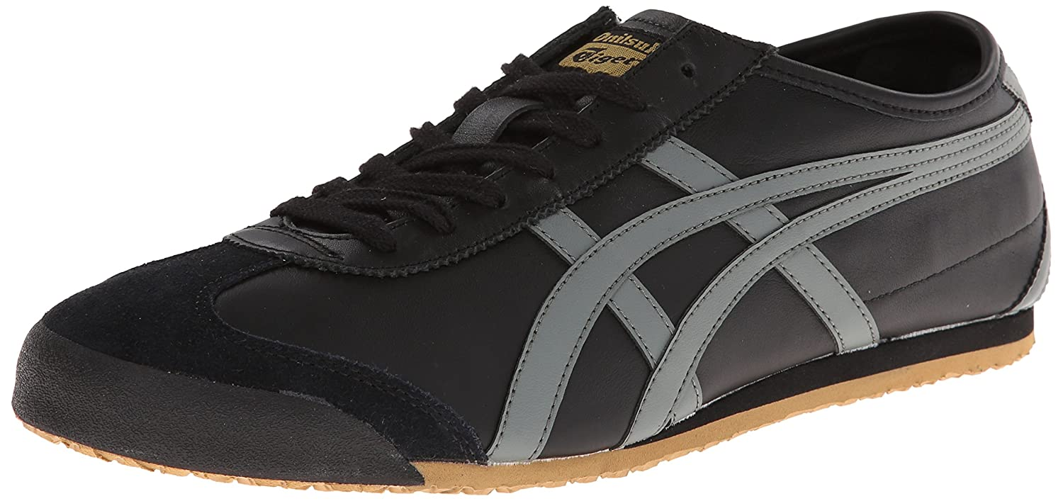 Onitsuka Tiger Mexico 66 Fashion Sneaker B00HQQSQOS 5.5 M US Women / 4 M US Men|Black/Gray/Gold
