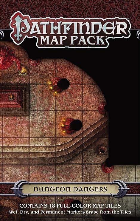 Pathfinder Map Pack: Dungeon Dangers (Pathfinder Adventure Card Game): Engle, Jason A., Staff, Paizo: Amazon.es: Juguetes y juegos