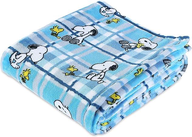 Peanuts Snoopy Happy Holidays Woodstock Soft Plush Fleece Throw Blanket NEW