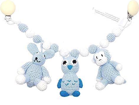 Elefant, Eisb/är und Kaninchen natureZOO Kinderwagenkette