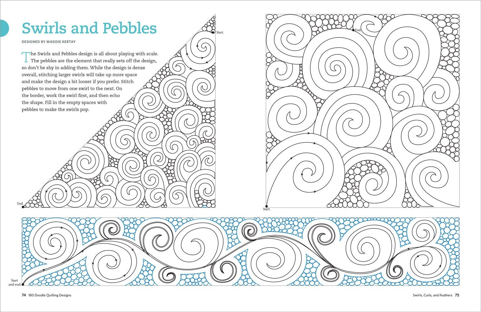 quilting templates for borders - galleon 180 doodle quilting designs free motion ideas