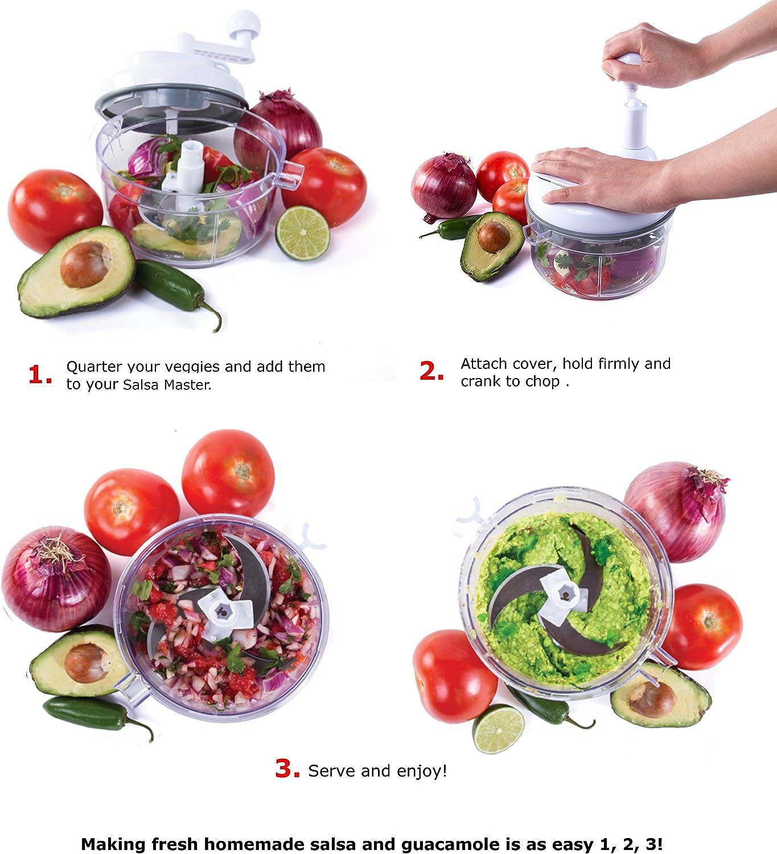 Amazon.com: Salsa Master. Máquina para hacer salsa ...