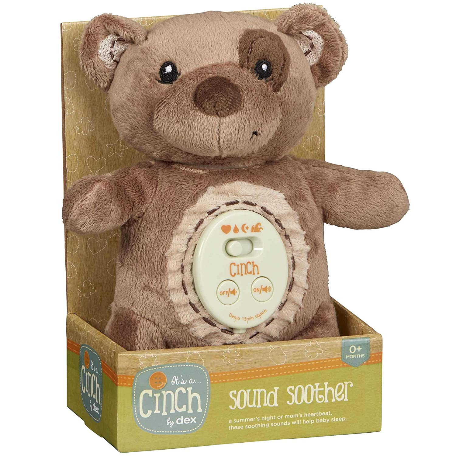 Amazon.com: Cinch by dexbaby Plush Mini - Chupete de dormir ...