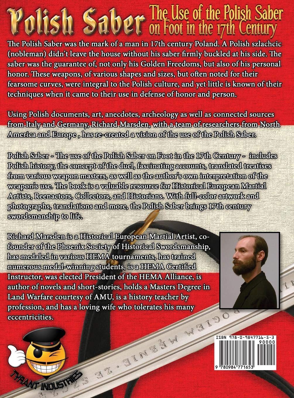 The Polish Saber: Richard Marsden: 9780984771653: Amazon com