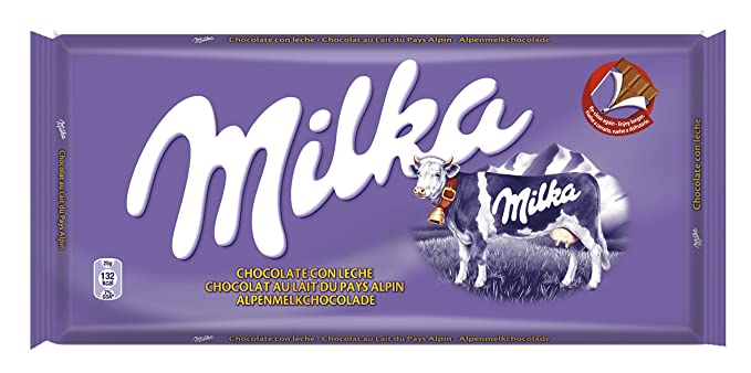 Milka - Tableta De Chocolate Leche - 125 g