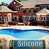 Conspec Pool and Spa Hot Tub CLEAR Silicone