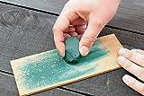 BeaverCraft Leather Honing Strop with Polishing