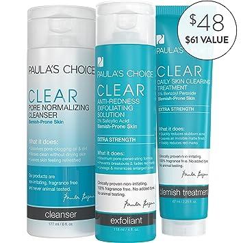 Paula's Choice-CLEAR Extra Strength Acne Kit-2% Salicylic Acid & 5%