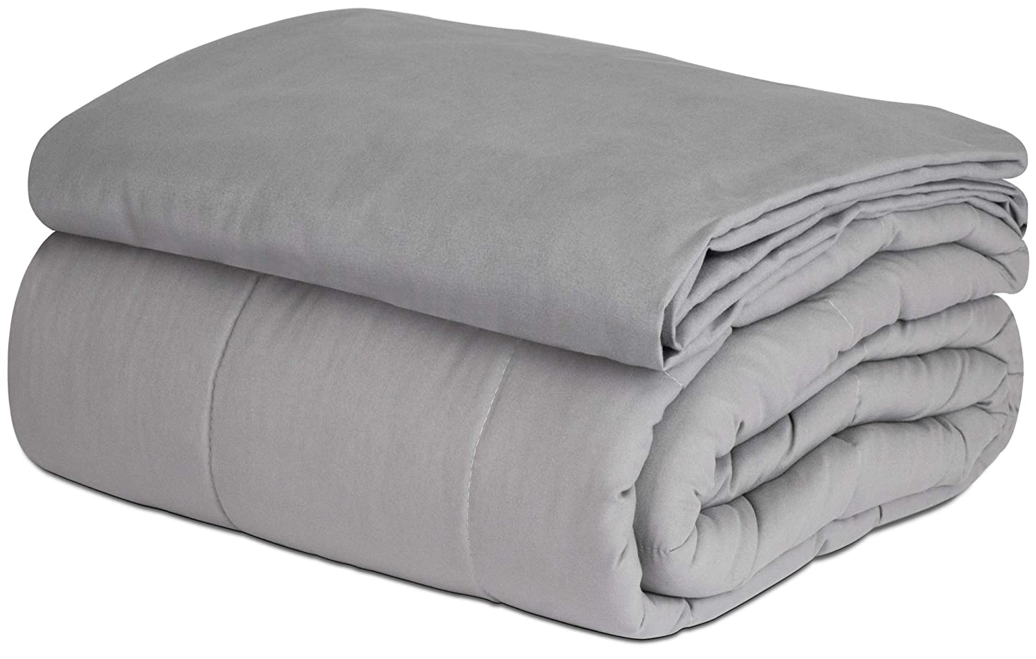 """SAFR Home Therapy Weighted Blanket & Removable Cover (60""""x80"""" 