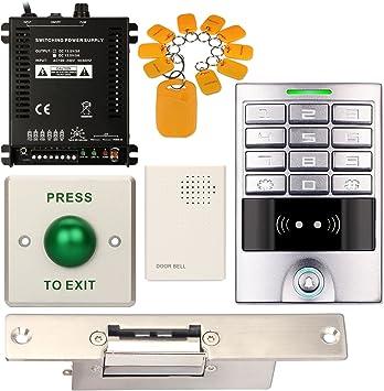 Resistente al agua teclado numérico DIY Control de acceso ...