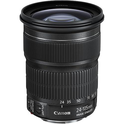 Canon EF 24-105 mm f/3.5-5.6 IS STM Lens,Black
