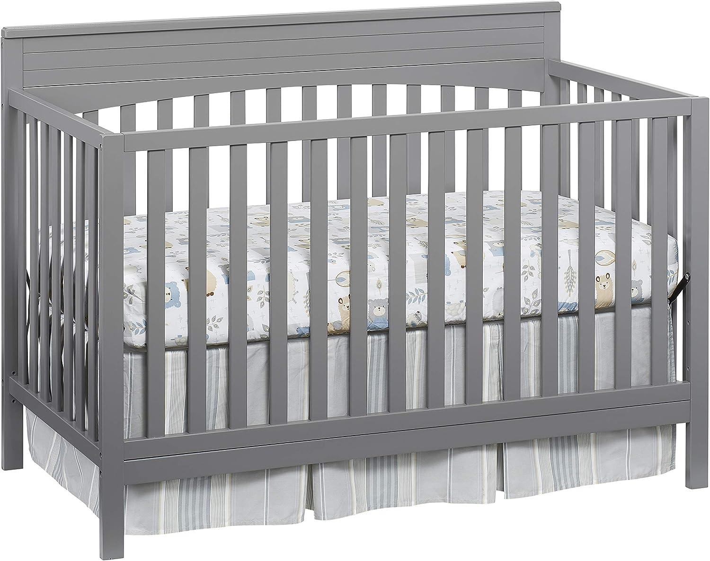 Oxford Baby Lazio 4-in-1 Convertible Crib Dove Gray