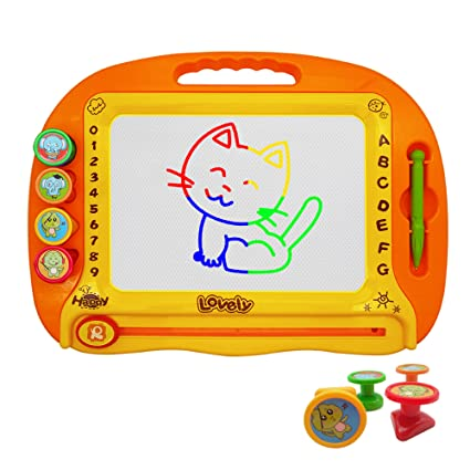 LOFEE Birthday Gift For 2 6 Year Old Boy Girl Magnetic Doodle Board