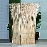 PARAVENT NATURE DESIGN | en bois, saule | décoratif partition