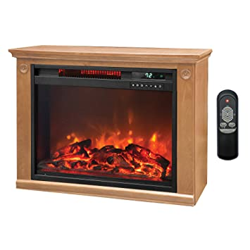 Buy Lifesmart 3 Element Quartz Infrared Electric Portable Fireplace Space Heater: Space Heaters - Amazon.com ? FREE DELIVERY possible on eligible purchases
