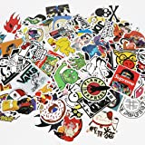 UTSAUTO Graffiti Stickers Decals Pack of 100 pcs Car Stickers Motorcycle Bicycle Skateboard Luggage Phone Pad Laptop…