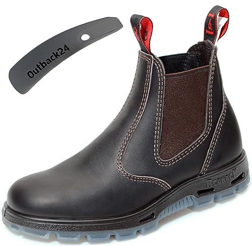 Redback - Botines Chelsea de Piel Lisa Unisex Adulto: Amazon.es: Zapatos y complementos