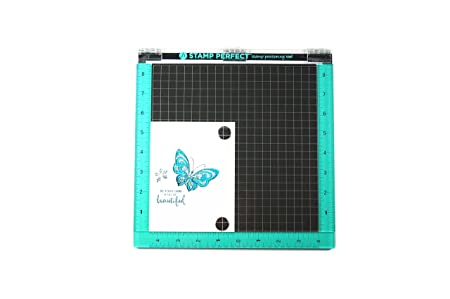 Hampton Art 10x10 Stamp Perfect Positioning Tool Synthetic Material Multicoloured 271 X 303