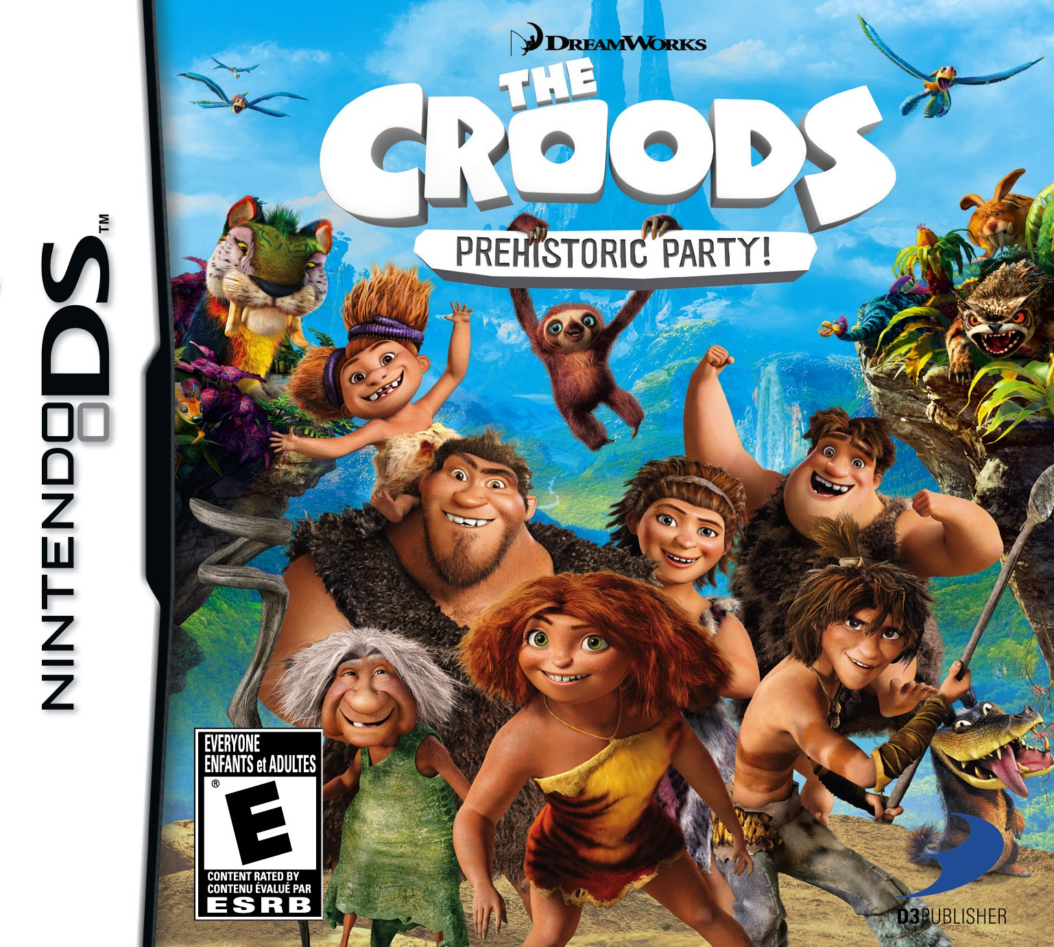 Croods: Prehistoric Party! (Nintendo DS) (NTSC) (B009ZUUG4Q) Amazon Price History, Amazon Price Tracker