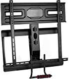 Pull down tv mount for fireplace aeon 50300 for Motorized tv mount over fireplace