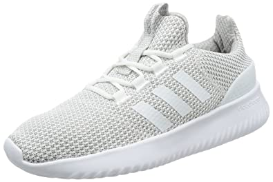 bada7f7cc46 adidas NEO Cloudfoam Ultimate Mens Fashion Trainer Shoe White - US 8.5