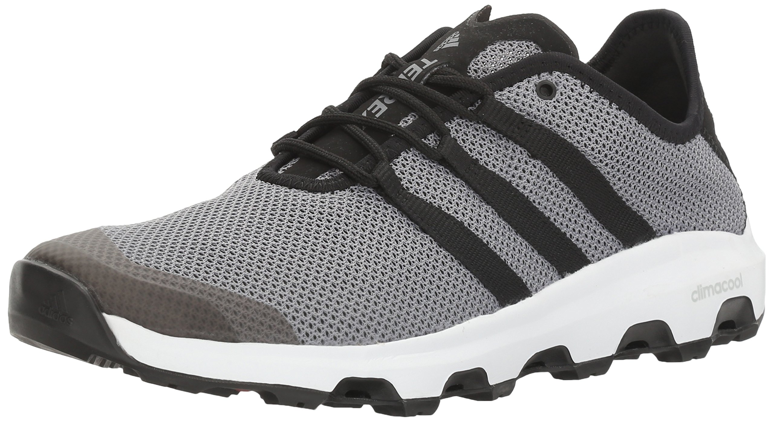 adidas outdoor Men's Terrex Climacool Voyager Water Shoe, Grey/Black/White, 10.5 M US by adidas outdoor