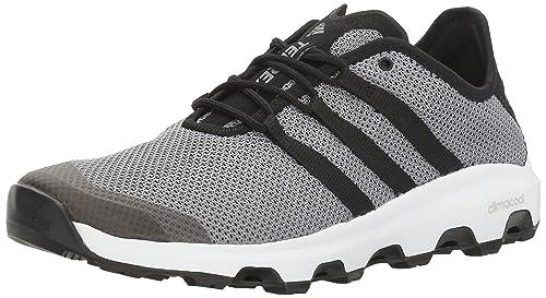 adidas Outdoor Men's Terrex Climacool Voyager Water Shoe, Grey/Black/White,  8.5
