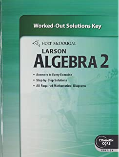 Amazon larson algebra 2 common core edition teachers edition holt mcdougal larson algebra 2 common core worked out solutions key fandeluxe Image collections