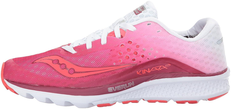Saucony Women's Kinvara 8 Running Shoe B01MQYRJDW 8.5 B(M) US Berry White