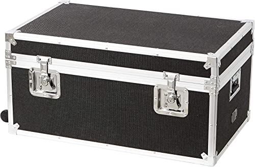 DormCo VIN Trunk – Heathered Black with Removable Wheels
