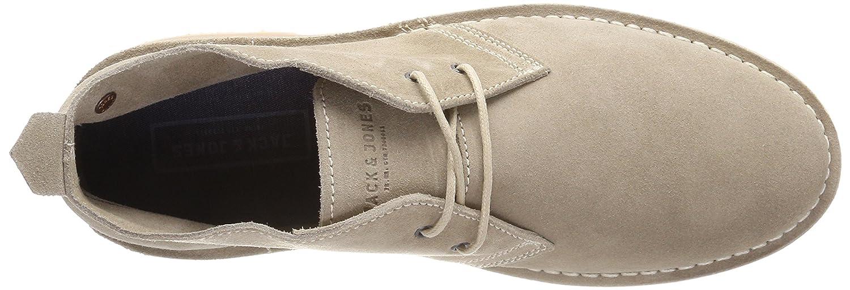 JACK & JONES Herren Grau Jfwgobi Suede Sand Desert Boots Grau Herren (Sand) 98cd71