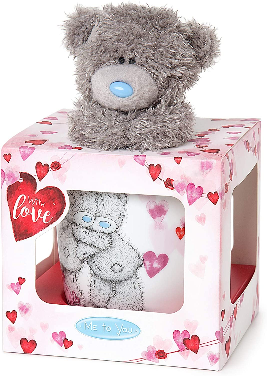 Me to You Birthday Plush and Mug gift set Tatty Teddy Gifts
