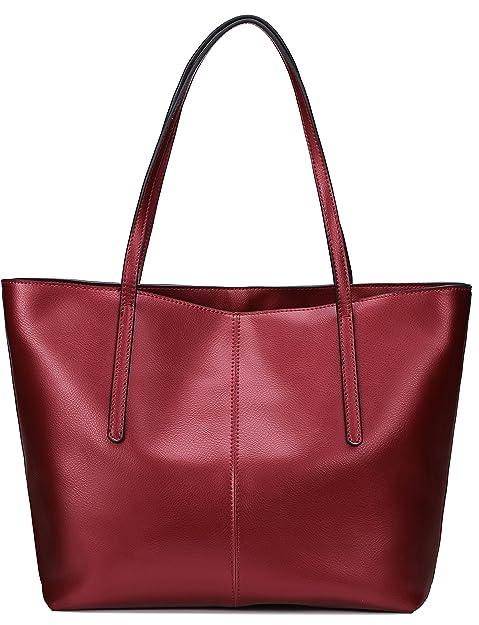 4307870ddf26 Covelin Women's Handbag Genuine Leather Tote Shoulder Bags Soft Hot ...